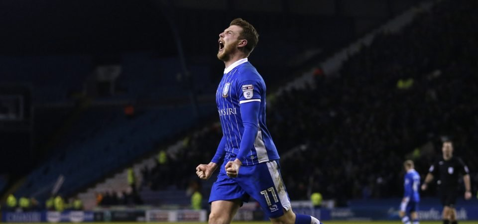 Sheffield Wednesday's Sam Winnall could be revived under Garry Monk