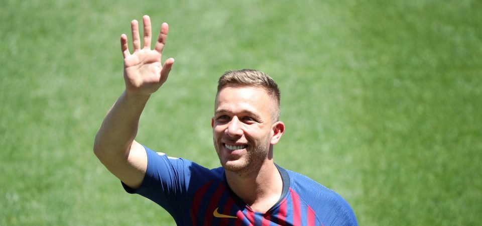 Barcelona have to find a spot for Arthur Melo in the starting lineup
