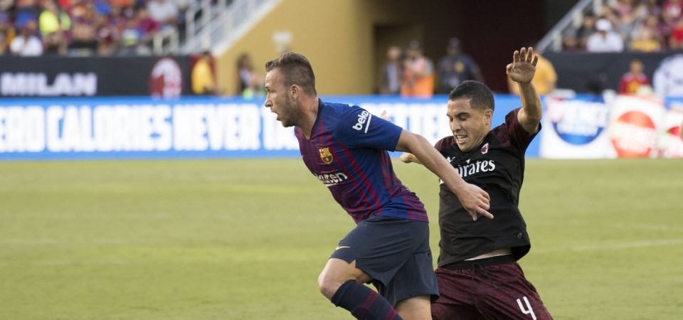 Barcelona fans want Arthur Melo to start against Valencia