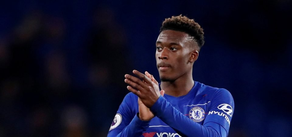 Chelsea fans delighted with Callum Hudson-Odoi impact