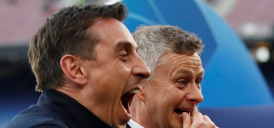 Man United feud between Castles and Neville chugs on following Solskjaer interview