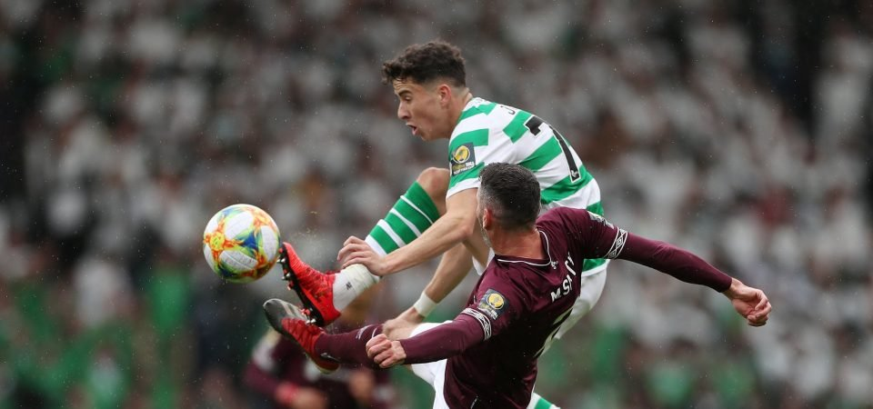Celtic's Mikey Johnstone ruled out of Hamilton clash