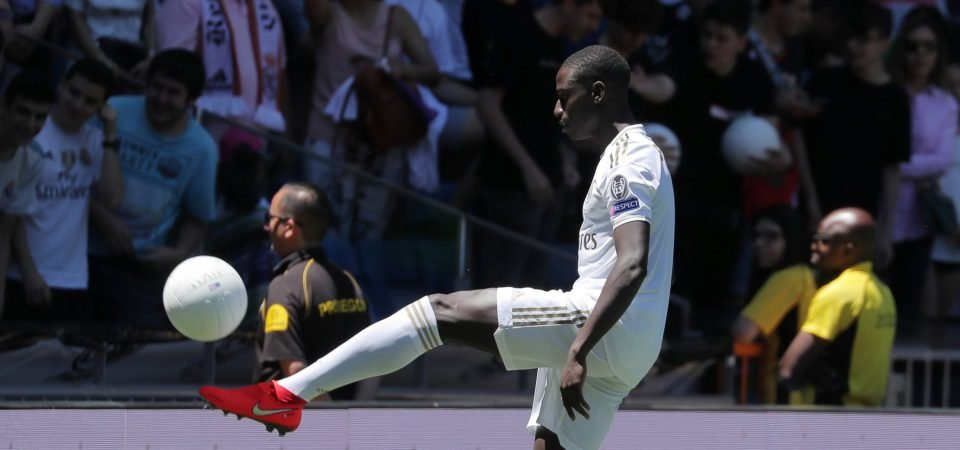 Real Madrid have to start Ferland Mendy on the weekend against Levante