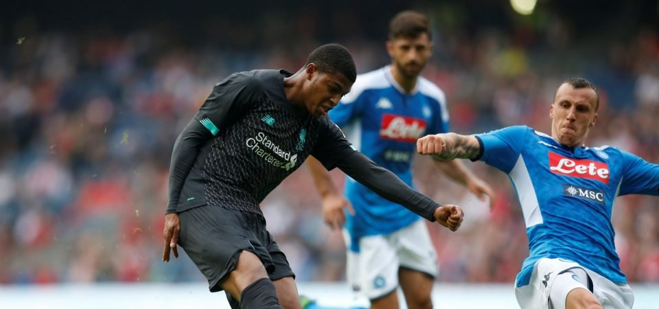 Liverpool fans offer encouragement to Rhian Brewster after FIFA 20 rating revealed