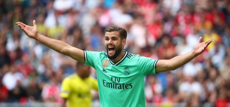 Real Madrid fans are not happy with the prospect of Nacho's return