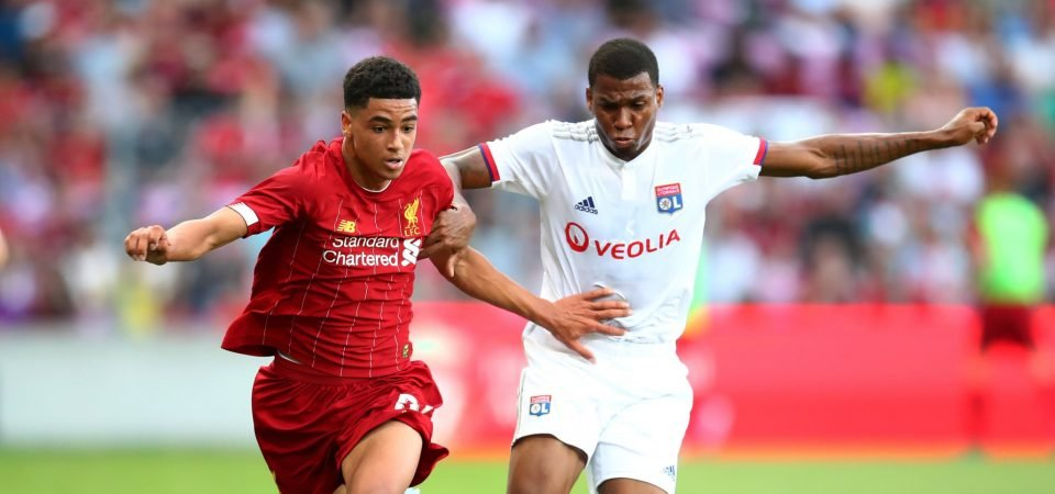 Liverpool fans disappointed Ki-Jana Hoever isn't in Champions League squad