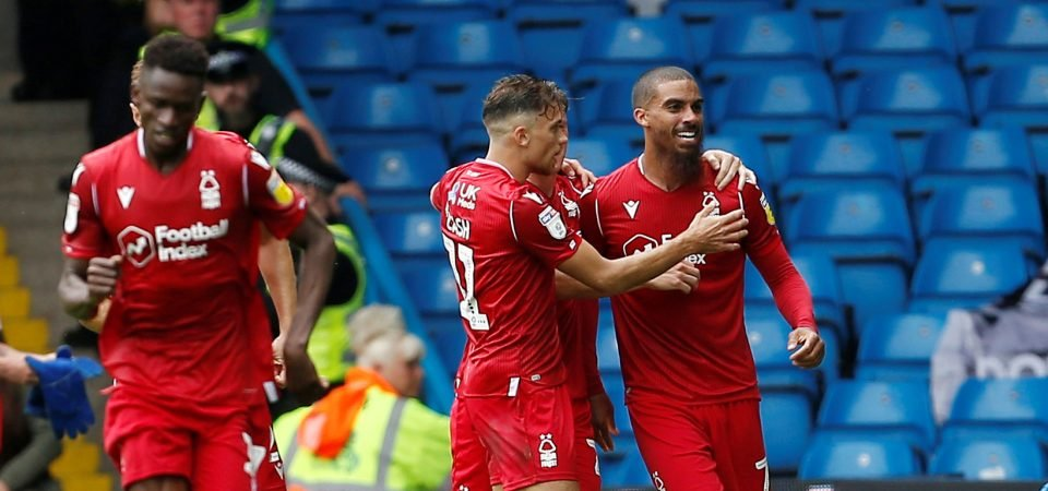 Nottingham Forest's Brennan Johnson can act as Lewis Grabban's rotation