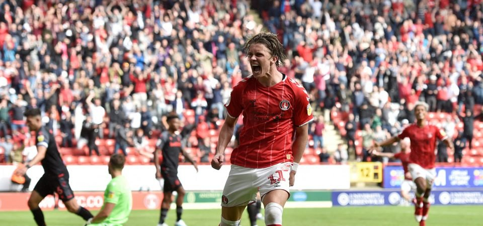 Charlton fans hype up Conor Gallagher after Leeds victory