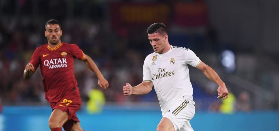 Real Madrid should start Jović in a front-two with Benzema this weekend