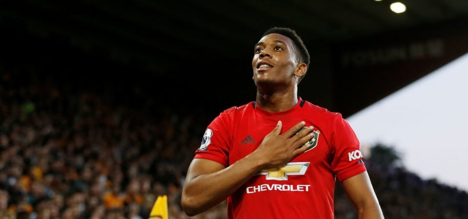 Exclusive: Pundit compares Anthony Martial to a Sunday League player