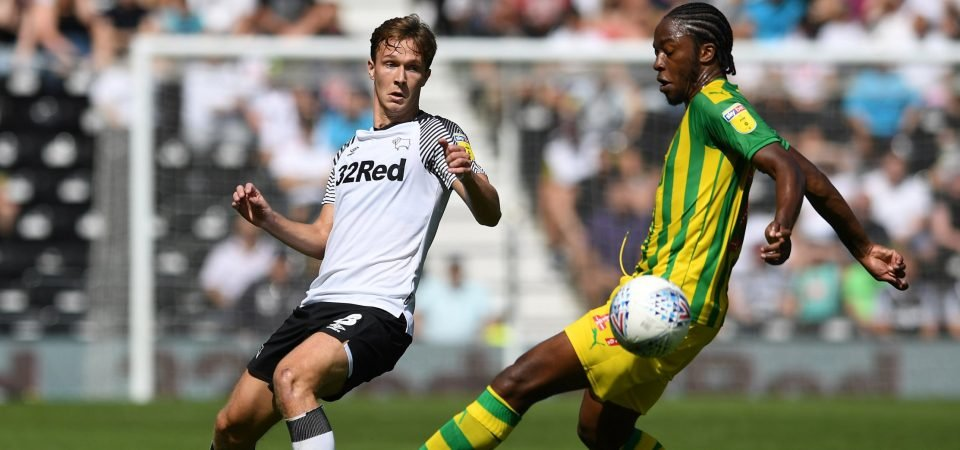 Everton's Kieran Dowell is struggling to get going on loan at Derby County
