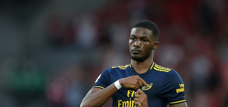 """Arsenal's Ainsley Maitland-Niles says he is """"still learning"""" defensively"""