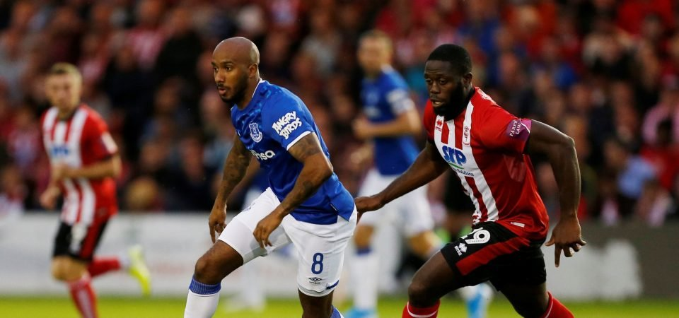 Everton's Fabian Delph showed he could be a key player this season in Wolves performance