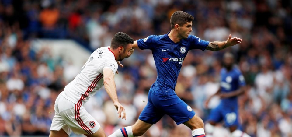 Chelsea's Christian Pulisic puts in passive performance against Sheffield United