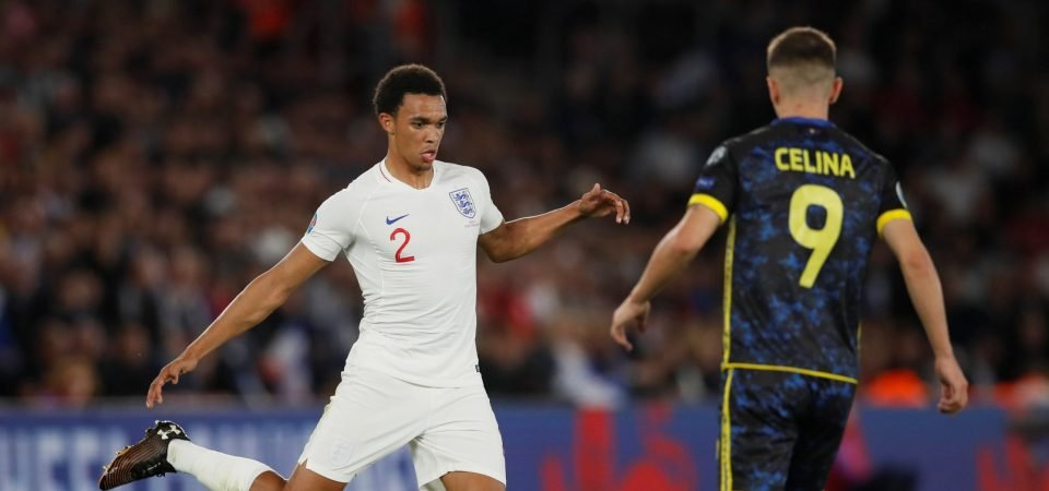 Liverpool fans react to Alexander-Arnold's questionable England showing