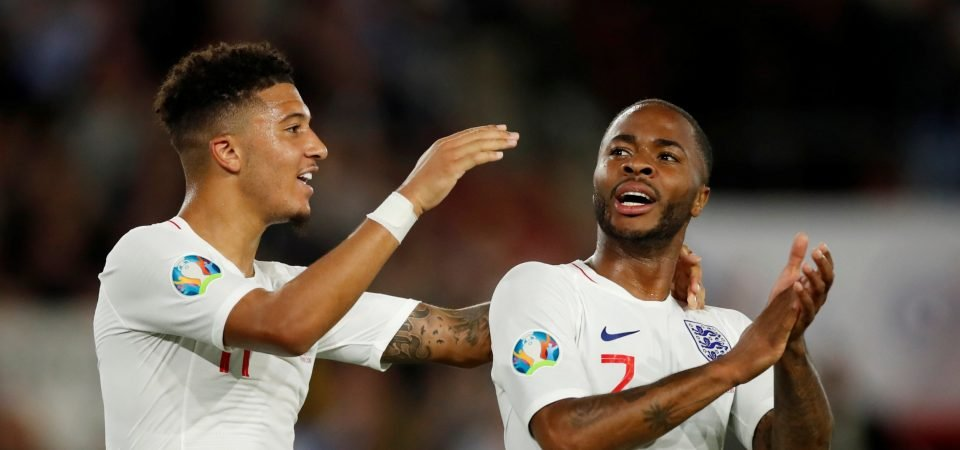 Man United fans praise Raheem Sterling's latest England display