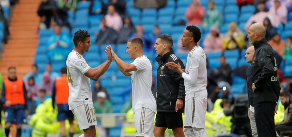 Real Madrid dropped the ball by taking off Casemiro and Sergio Ramos