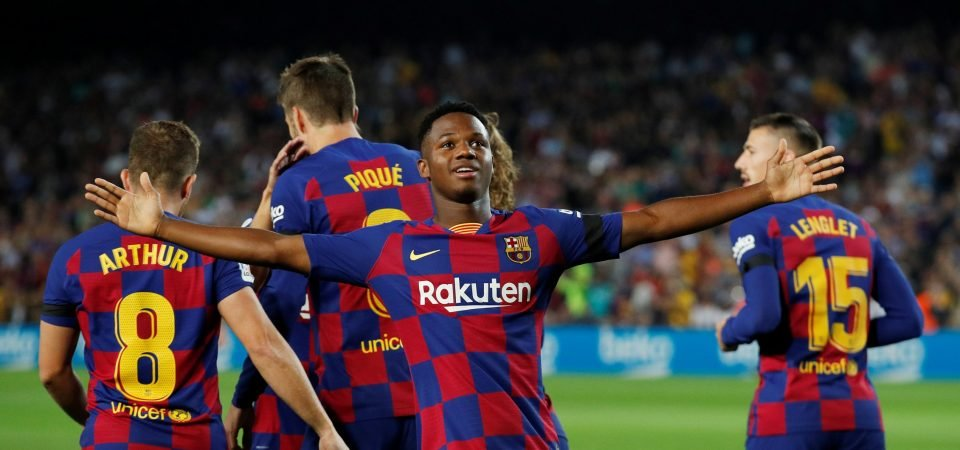 Barcelona fans are thrilled with Ansu Fati's injury update