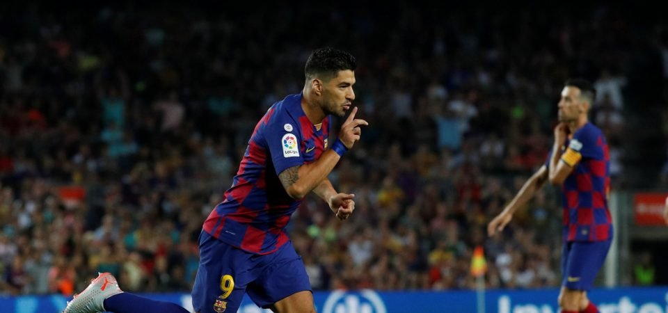 Barcelona fans drooling over Luis Suarez's throwback moment