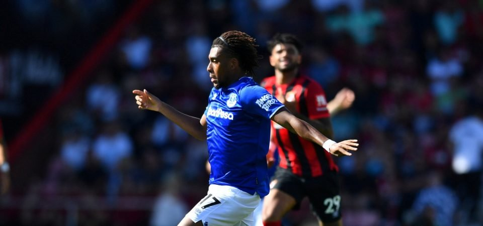 Alex Iwobi's latest outing divides the Everton supporters