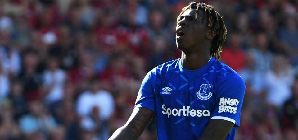 Everton's Moise Kean should not have been put on the right by Marco Silva