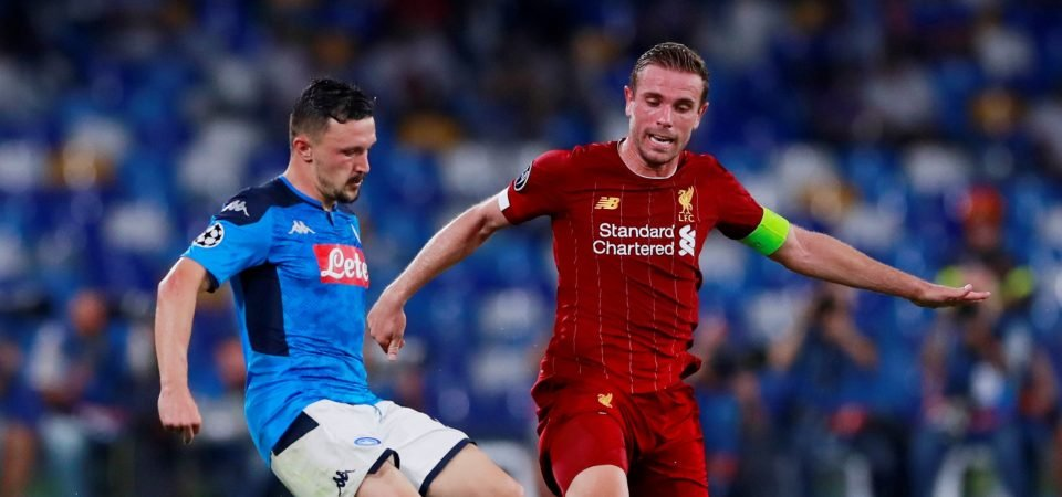 Liverpool's Jordan Henderson key to Chelsea victory if he wins Jorginho battle