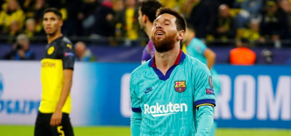 Barcelona's Lionel Messi still needs time to find his footing