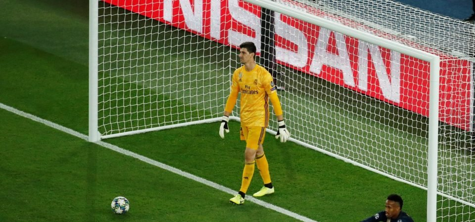 Real Madrid fans react to the latest Thibaut Courtois update