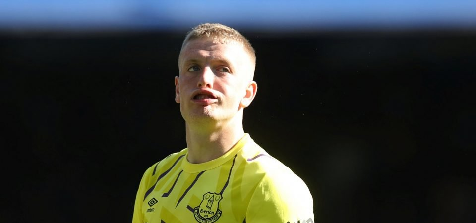 Everton fans livid with Pickford after Manchester City defeat