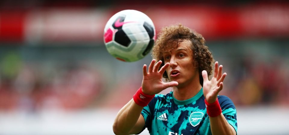 Arsenal fans want David Luiz dropped against Manchester United