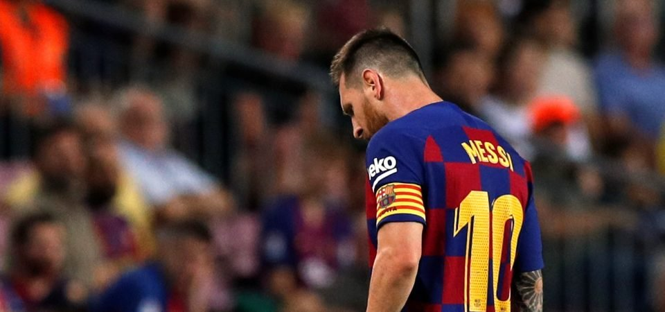 Barcelona might be depending on Lionel Messi more than ever