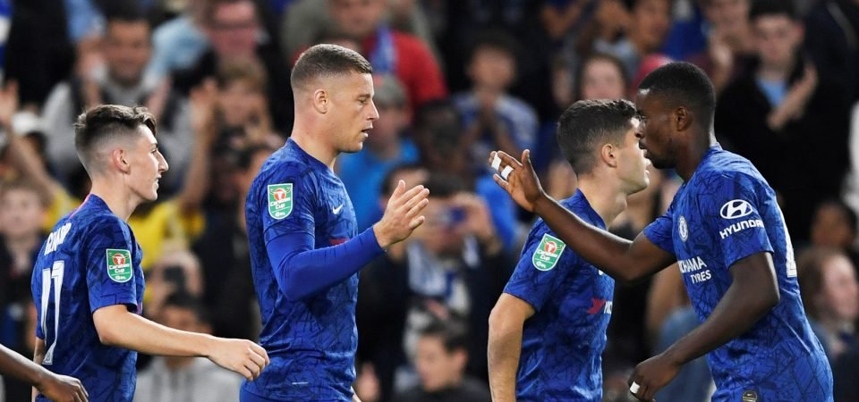 Chelsea's Ross Barkley is turning into a flat-track bully