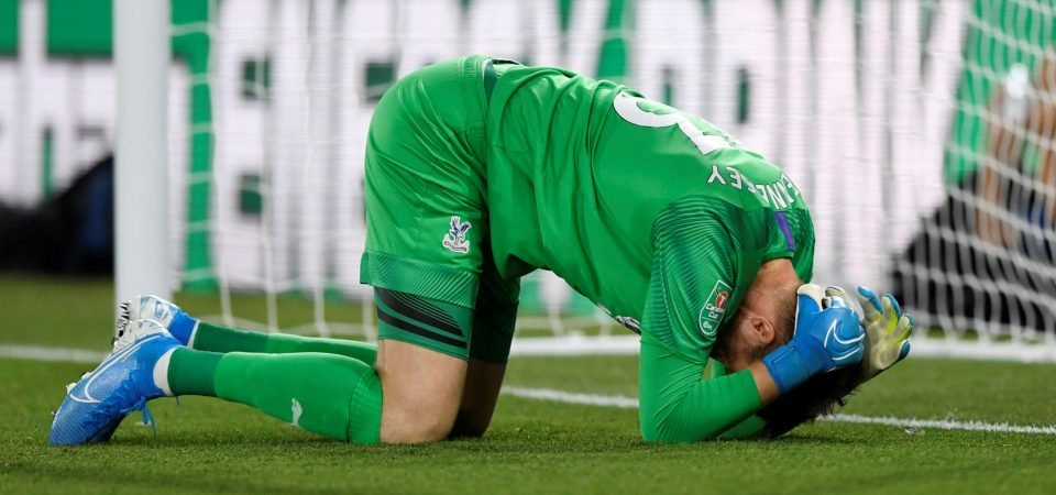 Crystal Palace goalkeeper Wayne Hennessey isn't first choice for this reason