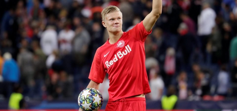 Leeds could sign Erling Haaland if they go up, according to Phil Hay