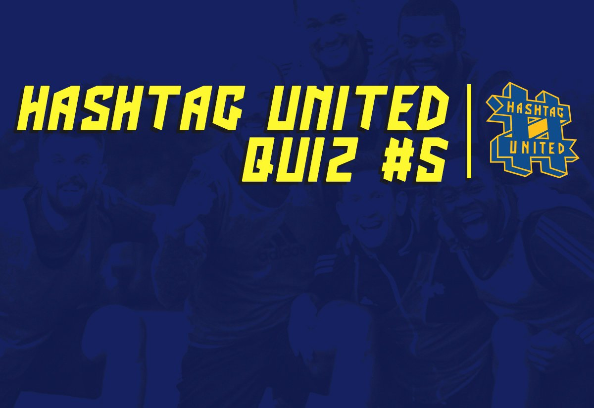 Quiz #5: Can you guess some of the Hashtag United lads' day jobs?