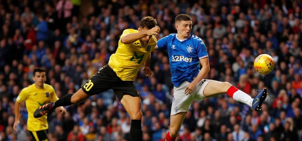 Rangers youngster Jake Hastie on top form at Rotherham