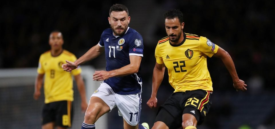 West Ham's Robert Snodgrass proves he's no longer up to the task in Scotland loss