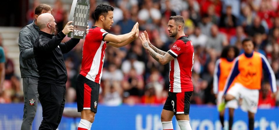 Southampton defender Maya Yoshida encountering the same old problem