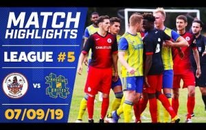 GAME OF THE SEASON? - SAWBRIDGEWORTH TOWN vs HASHTAG UNITED