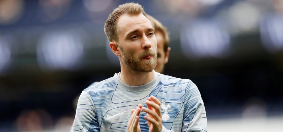 Real Madrid fans should keep their eyes peeled for Christian Eriksen's display vs Brighton