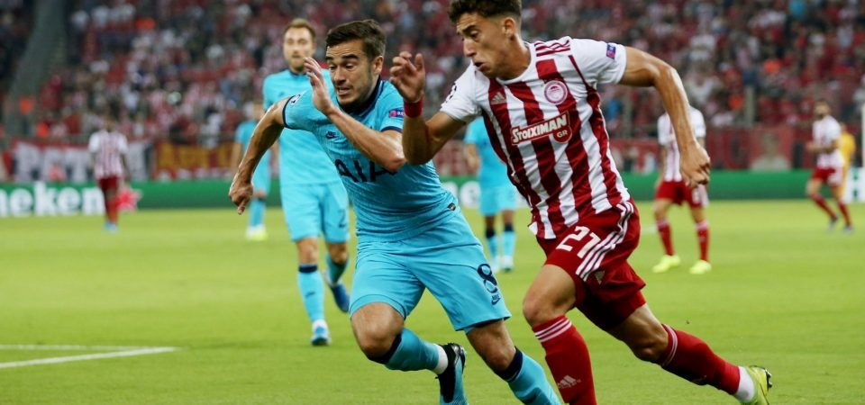 Tottenham fans praise Harry Winks after disappointing Olympiacos draw