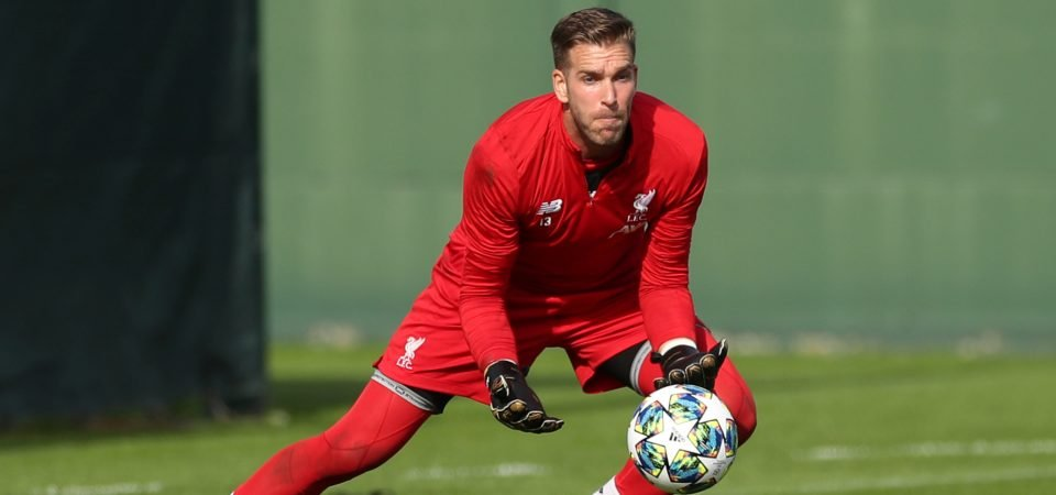 Liverpool's No.2 Adrian is performing above expectations in Alisson's absence