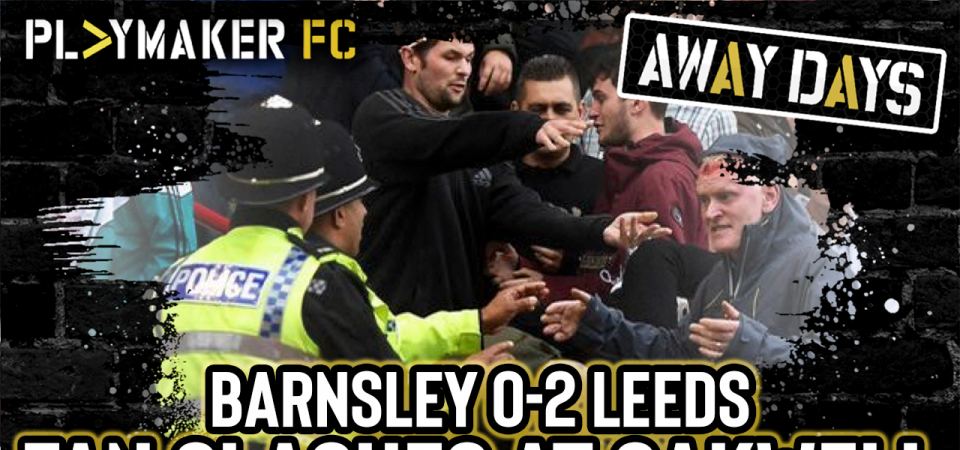 Pl>ymaker FC's LUFC Lewis' account of fiery Leeds vs Barnsley clash