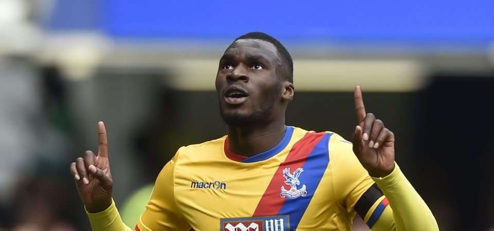 "Crystal Palace forward Christian Benteke ""really happy"" about questionable extension"