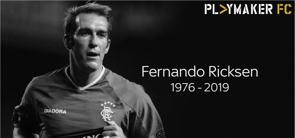 Pl>ymaker FC's C'mon the Hoops pays tribute to Fernando Ricksen