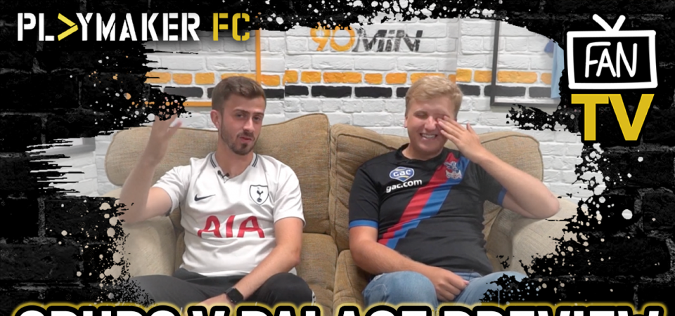 Pl>ymaker FC's George Achillea and Harvey Jones preview Spurs vs Crystal Palace