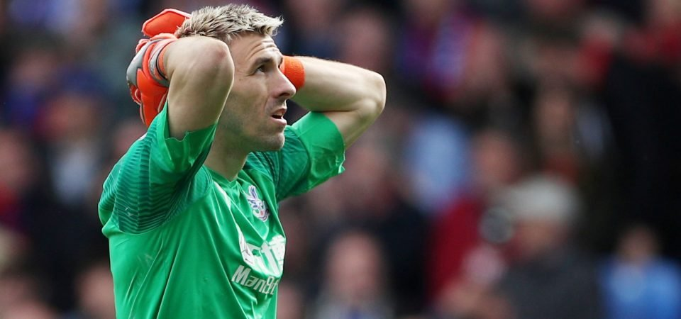 Crystal Palace: Vicente Guaita put in a poor performance against Arsenal