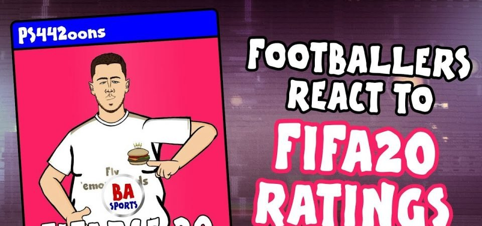 Pl>ymaker FC's 442oons provide alternative player reactions to FIFA 20 ratings