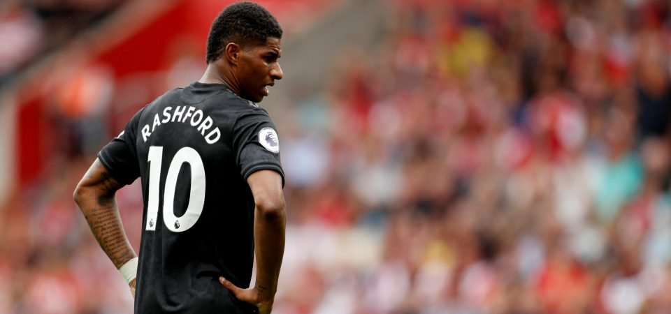 Manchester United fans slam Marcus Rashford after 1-1 draw with Southampton