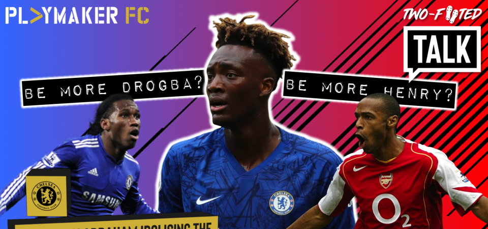 Pl>ymaker FC's Laurenz Vescoli discusses Tammy Abraham comparisons